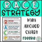 RACE Strategy Mini Anchor Chart FREEBIE