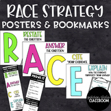 RACE Evidence Writing - Posters & Bookmarks