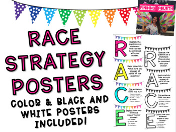 RACE Strategy Posters FREEBIE