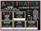 RACE Strategy Posters-chalkboard