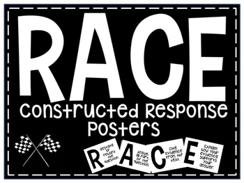 RACE Strategy White Posters-FREEBIE