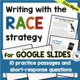 RACE Strategy Writing Passages and Prompts Print & Digital