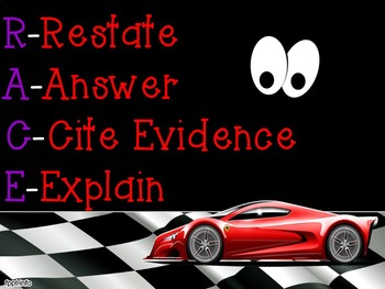 RACE Strategy for Answering Constructed Response Questions