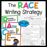 RACE Writing Strategy for Answering Text Dependent Questions (2nd-3rd Grade)
