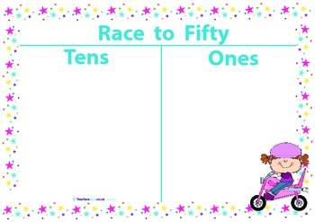 RACE TO FIFTY GAME