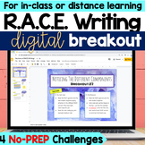RACE Writing Digital Breakout Activity