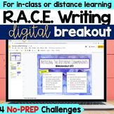 RACE Writing Digital Breakout Activity