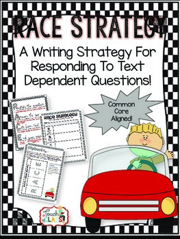 RACE Writing Strategy - Flipbook / foldable, graphic organizer and poster