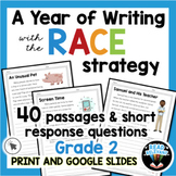 RACE Writing Strategy 40 Prompts and Passages for All Year