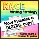 RACE Writing Strategy- Anchor Chart & Student Organizer