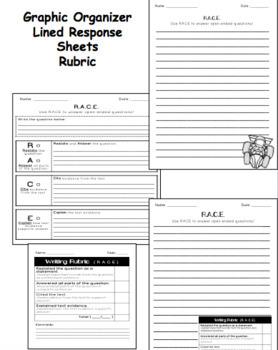 RACE Writing Strategy Bundle