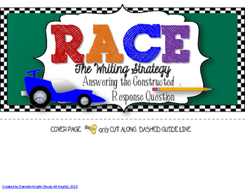 R.A.C.E WRITING STRATEGY INTERACTIVE FLIP BOOK: FOR TEACHERS AND STUDENTS