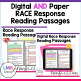 RACE Writing Strategy Passages Digital and Paper Bundle, D