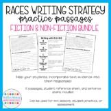 RACE Writing Strategy Practice Passages BUNDLE (fiction +