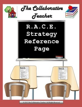 R.A.C.E. Strategy Reference Page