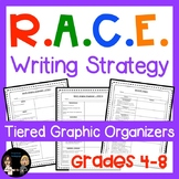 RACE Writing Strategy: Tiered Constructed Responses for 4-8