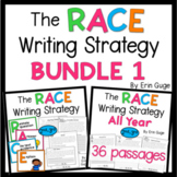 RACE Writing Strategy Bundle 2nd-3rd Grade   Distance Learning