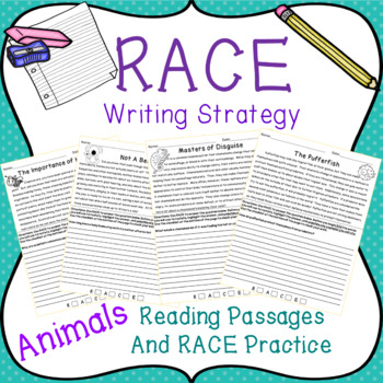 RACE Writing Strategy with Animal Passages