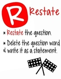 RACE Written Responses to Reading Strategy
