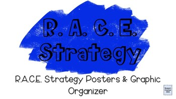 RACE method posters & graphic organizer
