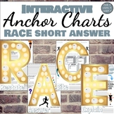 RACE Short Answer Strategy Anchor Charts for Grades Middle School ELA