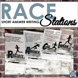 RACE Short Answer Writing Stations for Middle School