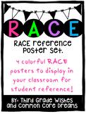 RACE poster set