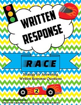 RACE through Written Response Questions