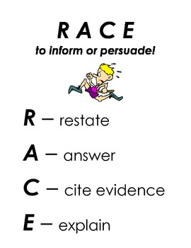 RACE to Inform or Persuade