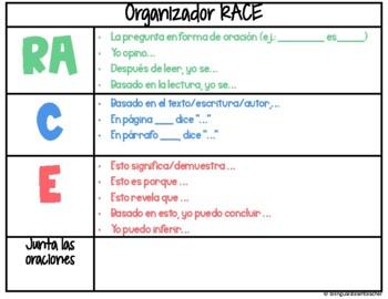 RACE to Respond/RACE a responder Spanish & English