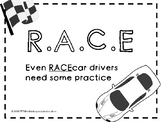 RACE to Respond Strategy Teaching and Practice Packet