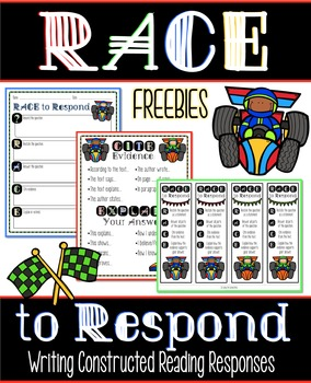 RACE to Respond {Writing Constructed Reading Response} FREEBIE