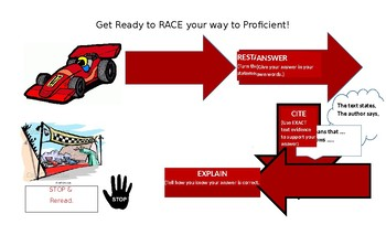 RACE visual placemat