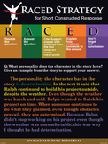 RACED Constructed Response Poster - 18x24 Inch 10 mm