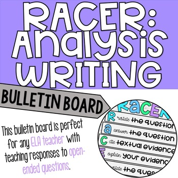 RACER: Bulletin Board - teaching writing with open-ended responses