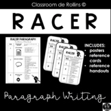RACER Posters, Sentence Starters and Reference Sheets