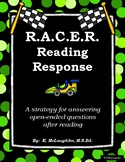 R.A.C.E.R. Reading Response (Strategy for Open-Ended Reading Response Questions)