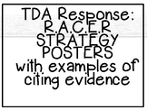 RACER TDA Response Strategy