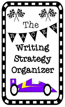 RACER Text Based Writing Strategy Graphic Organizer