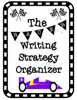RACER Writing Strategy Graphic Organizer