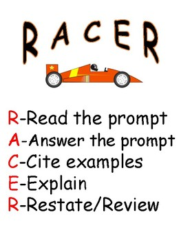 RACER for Text Dependent Analysis