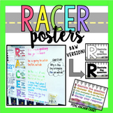 RACER Posters for Comprehension (Rainbow)