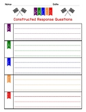 RACES Constructed Response Graphic Organizer