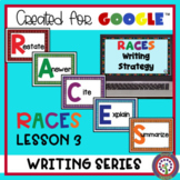RACES Lesson 3 Digital Resource for Google Distance and Si