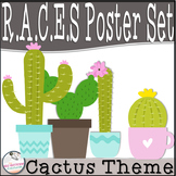 RACES Strategy Poster Set (Cactus Theme)