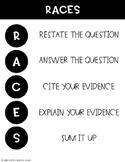 RACES Poster - Text Dependent Analysis Outline