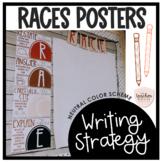 RACES Posters - Neutral Colors