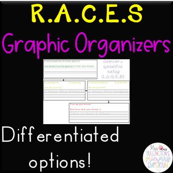 RACES Response Graphic Organizer