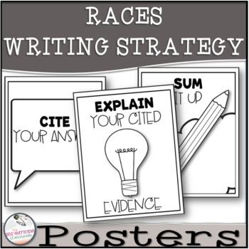 RACES Strategy Cards and Poster Set