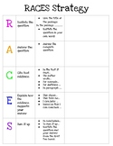 RACES Strategy Graphic Organizer